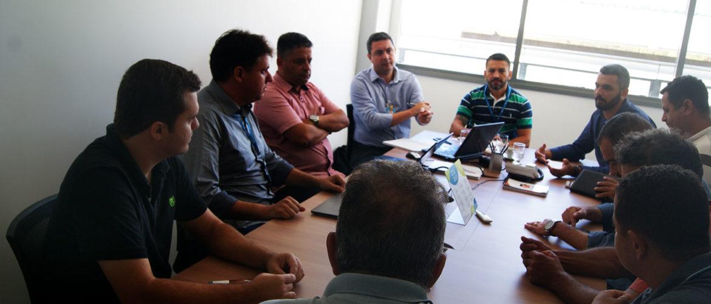 Câmara de Rio Novo e Diretoria da ENERGISA
