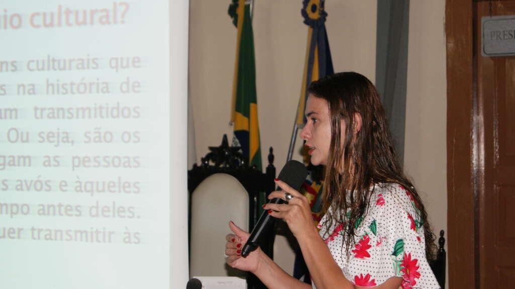 REunião Patrimônio Cultural em Rio Novo