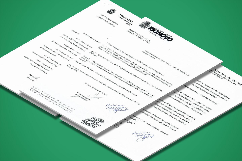 Câmara aprova reajuste dos Servidores Públicos.